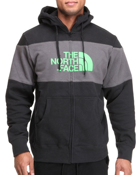 The North Face - Barked Blocked Full Zip Hoodie
