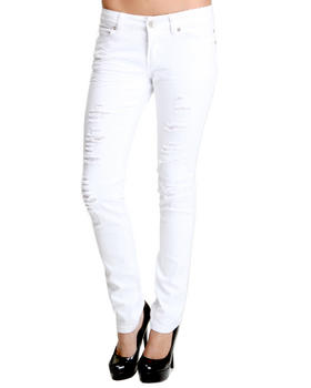 Basic Essentials - Paris Skinny Jean pants w/rips