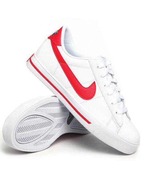 Nike Women Red,White Wmns Sweet Classic Leather Sneakers