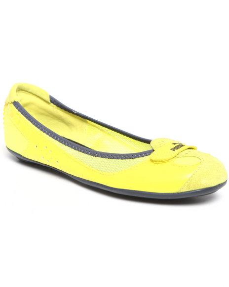 Puma Women Yellow Zandy Native Wns Shoes