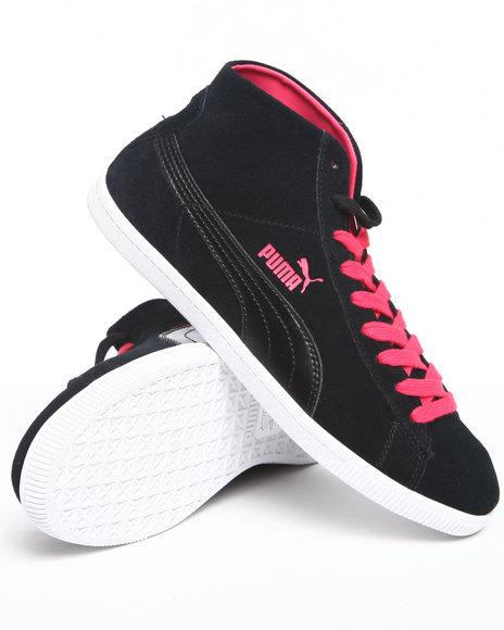 Puma Women Black Glyde Mid Wn's Sneakers