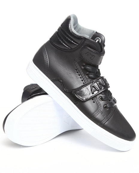 AH by Android Homme Black Propulsion Hi Eva Sneaker