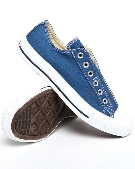 Converse Men Blue Chuck Taylor All Star Slip On Sneakers