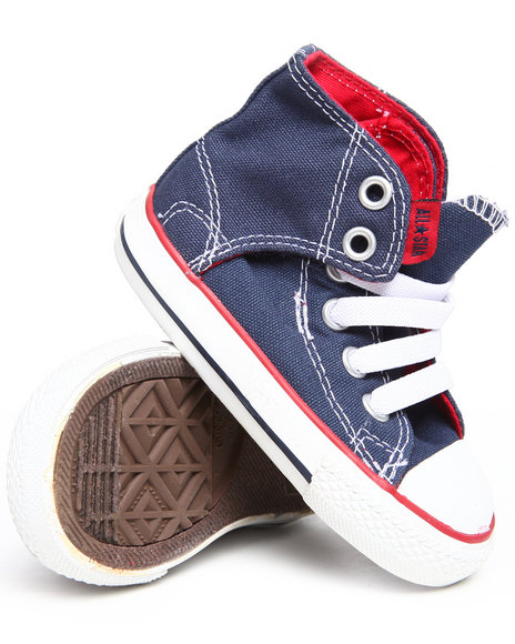 Converse Boys Navy Chuck Taylor All Star Easy (5-10)