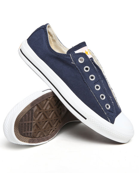 Converse Men Navy Chuck Taylor All Star Slip Sneakers