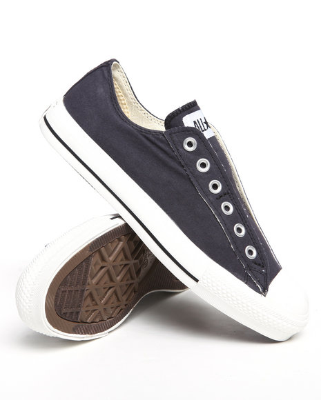 Converse Men Black Chuck Taylor All Star Slip Sneakers