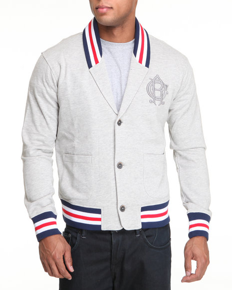 Rocawear Men Grey Ambition Cardigan