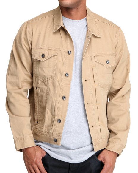 Khaki Light Jackets
