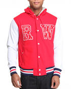 Men - Roc Forever Hooded Varsity Jacket