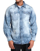 Men - Street Smart Denim Button-down