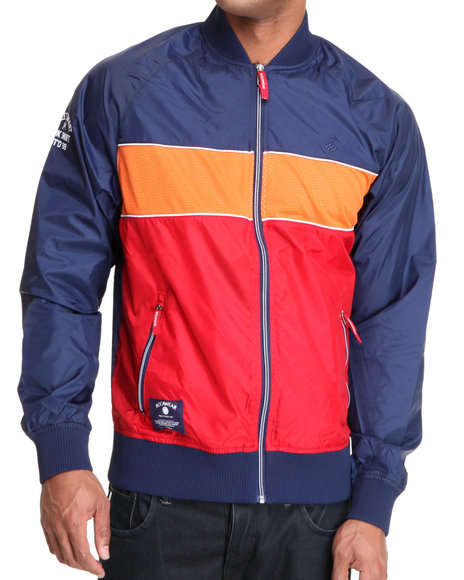 Rocawear Men Blue Primetime Track Jacket