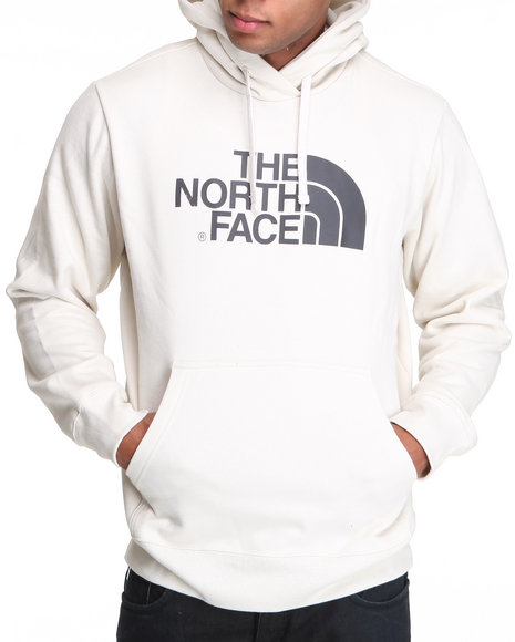 The North Face Men White Half Dome Hoodie