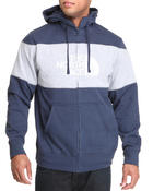 Men - Barked Blocked Full Zip Hoodie
