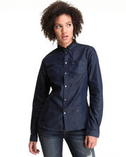 G-STAR - L/S Lynn Slim Denim Shirt