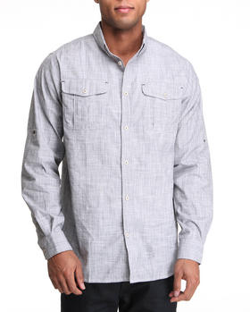 Rocawear - Slub Poplin Field L/S Button-down
