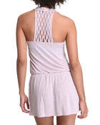 Women - Racer Back Criss-Cross Romper