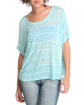 Basic Essentials - Stripe Knit Top