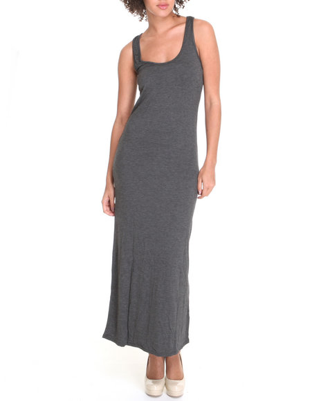 sleevless racerback maxi dress