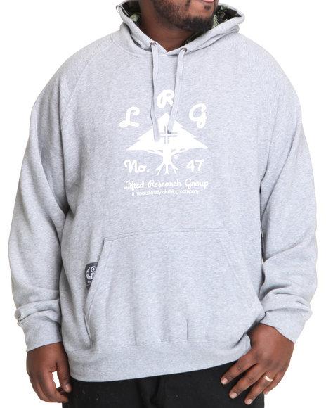 LRG Men Grey O G Army Pullover Hoodie (B&T)