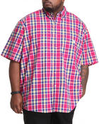 Men - Ossabow S/S Plaid Shirt (B&T)