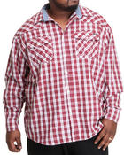 Men - Long Sleeve Sutton Plaid Button-Down (B&T)