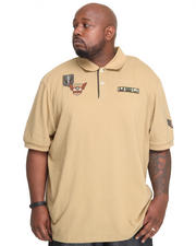 Big & Tall - G-Force Military Pique Polo (B&T)