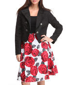 Outerwear - 2-Piece Jacket & Skirt