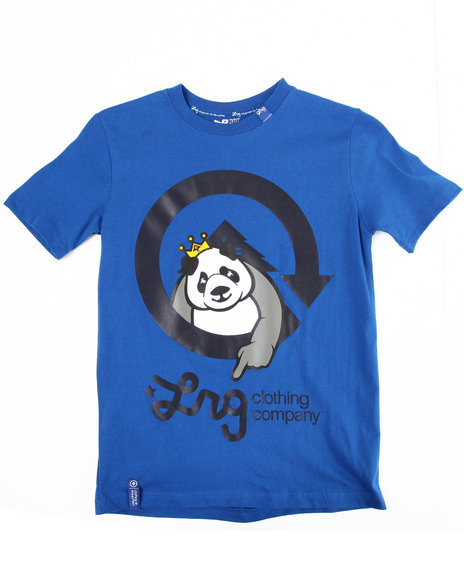 LRG Boys Blue The Homeboy Panda Tee (8-20)