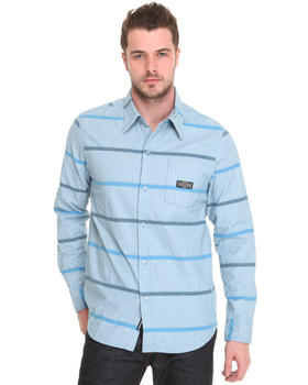 The Hundreds - Wheat Oxford Striped Button-down