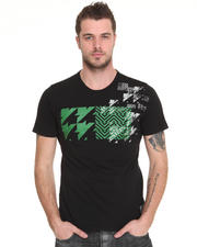 Lord Baltimore - Green Icon Houndstooth -  Tee