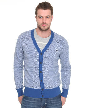 DJP OUTLET - Hex Pattern L/S Cardigan