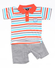 2T-4T Toddlers - 2-piece Bootsy Polo Short Set (TOD)