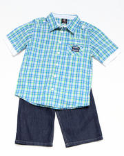 8-20 Big Boys - 2-piece Ford Woven Short Set (8-20)
