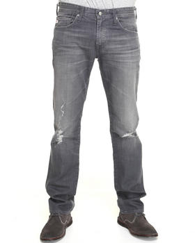AG Adriano Goldschmied - 6 Yr Destroyed Matchbox Slim Straight Jeans