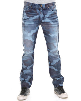 Big Star - Division Slim Straight Leg Camo Print Denim