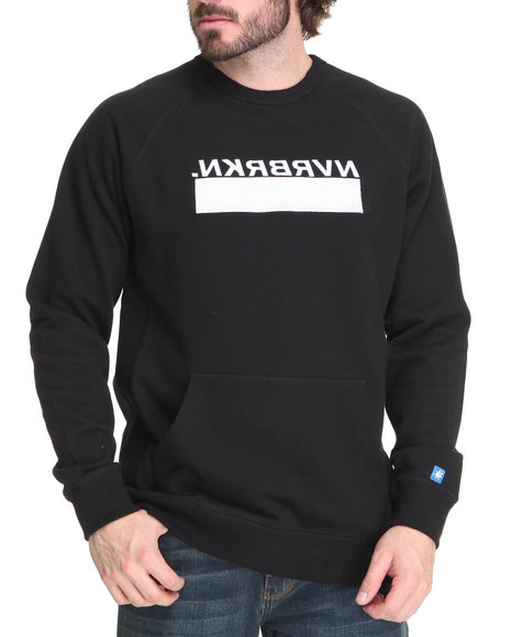Mens Graphic Crew Neck Sweaters