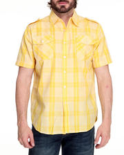 Shirts - Brillyant Plaid Short Sleeve Shirt