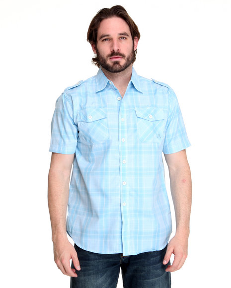 - Brillyant Plaid Short Sleeve Shirt