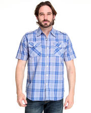 Stripe & Plaid - Brillyant Plaid Short Sleeve Shirt