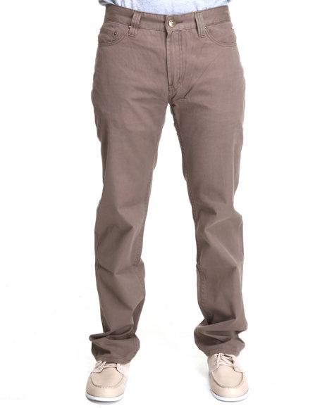 A Tiziano Men Grey Kennedy Straight Fit Denim Jeans