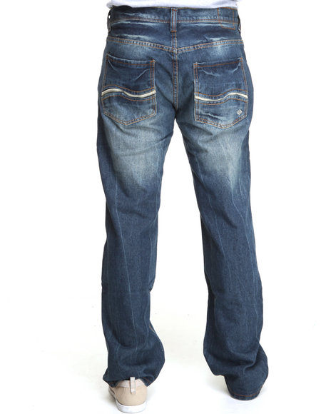 Enyce Men Blue New Tradition Denim Jean