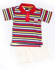 8-20 Big Boys - 2-piece Bootsy Polo Short Set (8-20)