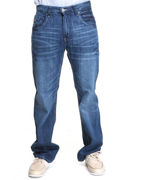 Enyce Men Blue Premium High Road Denim Jean