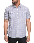 Men - Engineer Plaid S/S Button Down
