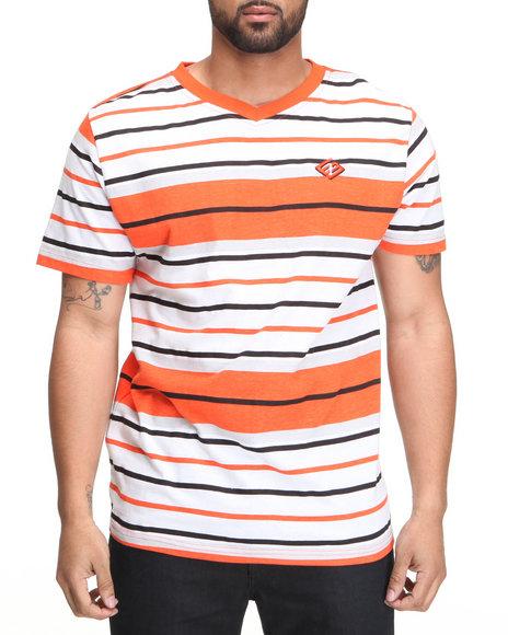 Enyce Men Orange,White Windser V-Neck