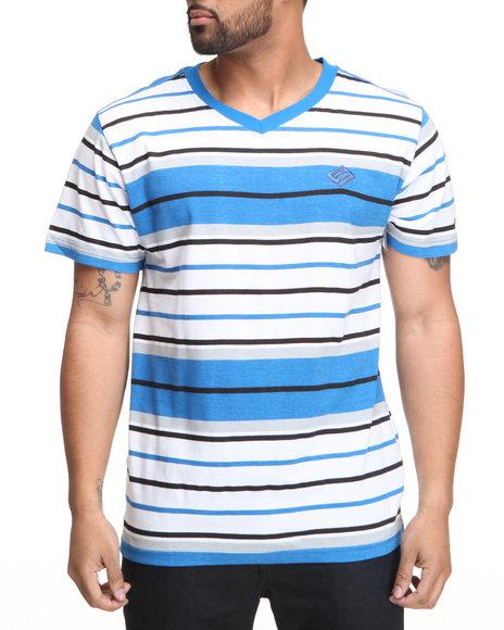 Enyce Men Blue,White Windser V-Neck