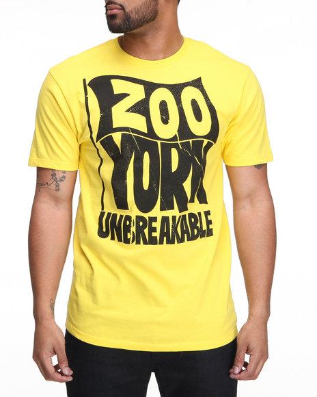 Zoo York Men Yellow Zoo 68 Tee