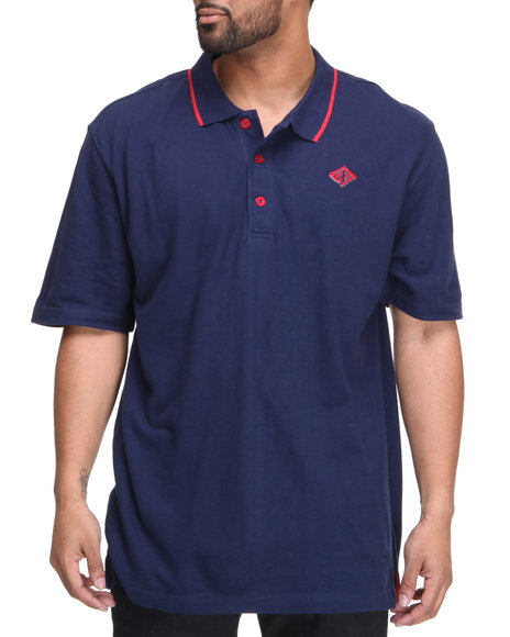 Enyce - Men Navy New Reprisal Short Sleeve Polo