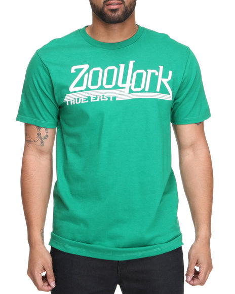 Zoo York Men Green No Sweat Tee