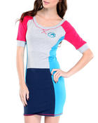Ecko Red - Heavy Stretch Color Block Active Dress